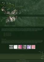 .:Green Flowers by ginkgografix