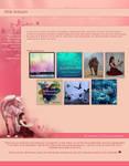 .:Pink Unicorn by ginkgografix