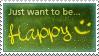 .:Happy Stamp by ginkgografix