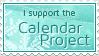 Calendar Project Stamp by ginkgografix
