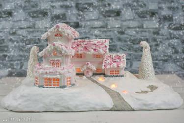 Pink Winterwonderland by ginkgografix