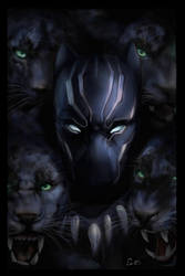 Black Panther by Erin-E-Brown