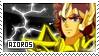 Aioros stamp by Floriblue12