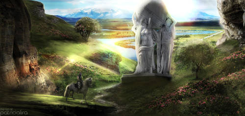 Goddess Valley by PatriciaLira
