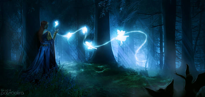 Fairy Forest by PatriciaLira