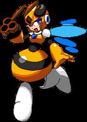 Large 8-bit Honey Woman Pixel Art by geno2925