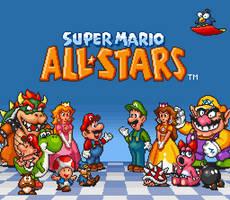 Super Mario All-Stars Title Edit by geno2925