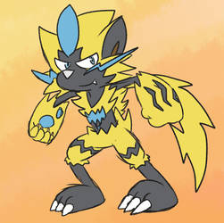 .:POKEMON:. That Electric Tiger again by Implosion-Explosion