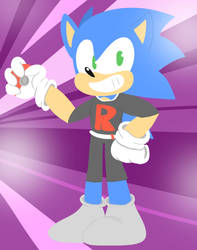 .:SONIC THE HEDGEHOG:. It's only for the outfit by Implosion-Explosion