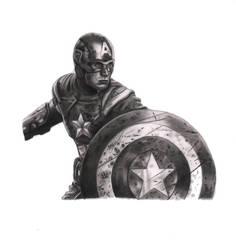 Captain America by kad84