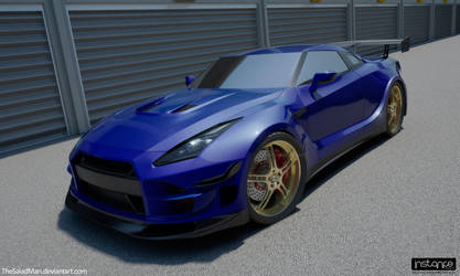 Nissan R35 GT-XR Widebody by TheSaladMan