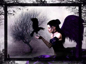 Raven by KaanaMoonshadow