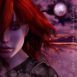 Under a Violet Moon - Keridwen by KaanaMoonshadow