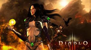 Diablo III - Wizard by KaanaMoonshadow