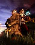 Dragon Age - Grey Warden by KaanaMoonshadow