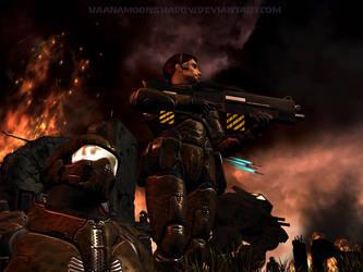 Space Marines - V2 by KaanaMoonshadow