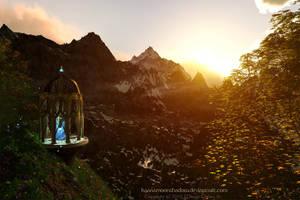 Moon Temple by KaanaMoonshadow