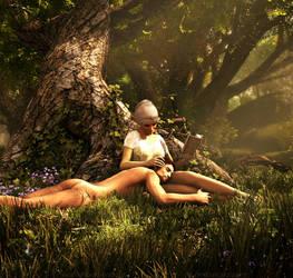 Lazy summer afternoon by KaanaMoonshadow