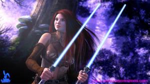 Xaja - Jedi Sentinel by KaanaMoonshadow