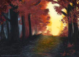 01 - Autumn Forest by KaanaMoonshadow