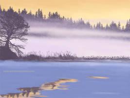 07 Frozen Lake by KaanaMoonshadow