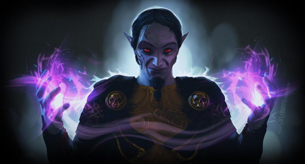 Dark Mage by KaanaMoonshadow