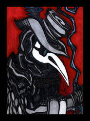 XIII. The Plague Doctor by Malklover