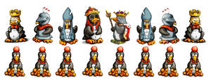 Linux Chess Set by sethness