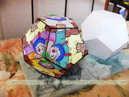 clown dodecahedron by sethness