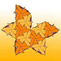 Goldfish: D-I-Y 3D Icosahedron by sethness