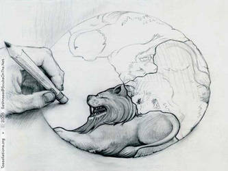 Lion Circle Tessellation by sethness