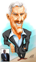Caricature: Richard N. of NZ by sethness