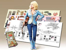 Dolly Parton's Flat by sethness