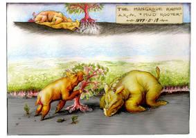 Imaginary Mangrove Rhino by sethness