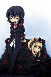 Marchen and Elize by arashi-yukawa