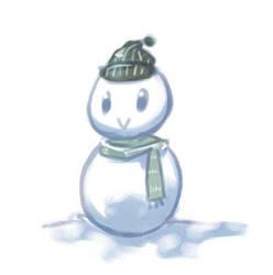 Snowman 'v' by arashi-yukawa