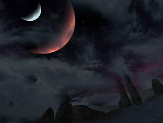 Morrowind Moons by xsavior