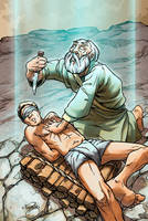 Abraham and Isaac by jeffery
