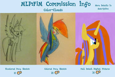 MLP:FiM Point Commission Info [OLD] by LittleCloudie