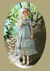 Thinkfly Girl by AstroRobyn