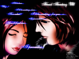 Squall and Rinoa by Sil3ntC0nflict