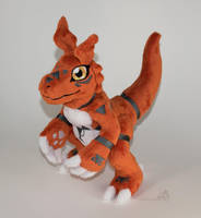 Guilmon by HollyIvyDesigns