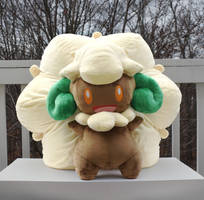 Lifesized Whimsicott Pillow Plush by HollyIvyDesigns