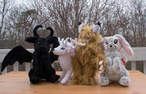 HKWBooks Plushes and Giveaway - Win These Plushes! by HollyIvyDesigns