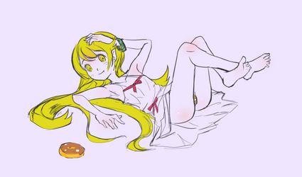 Shinobu (sketchbook) by Flatberry