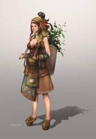 Herb Girl by AtelierRAN