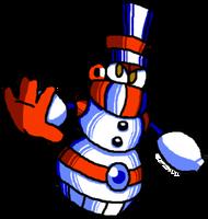 Snowdrift Man - My Megaman Robot Masters by Slick-Nick