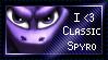 Classic Spyro Stamp by PinkZombiez