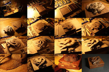 Smaug the Wooden - WIP by Thorleifr