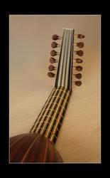 Renaissance Lute - Neck by Thorleifr